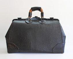 Grand sac médical vintage