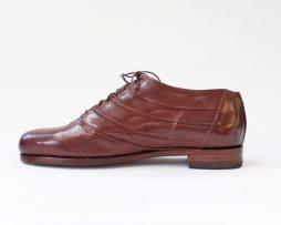Richelieu à plis - brun